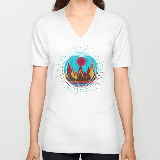 Textures/Abstract 139 V-neck T-shirt