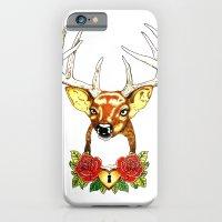 iPhone & iPod Case featuring Oh deer. by Yuka Nareta