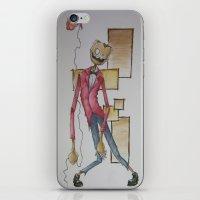 Where Is My Mind? iPhone & iPod Skin