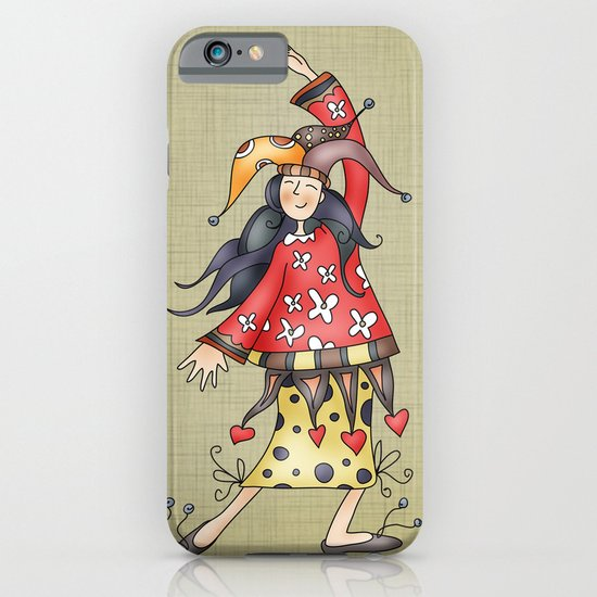 Lady Jokers iPhone & iPod Case