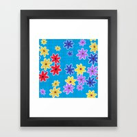 Floral Pattern New Framed Art Print