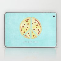 Give Pizza Chance Laptop & iPad Skin