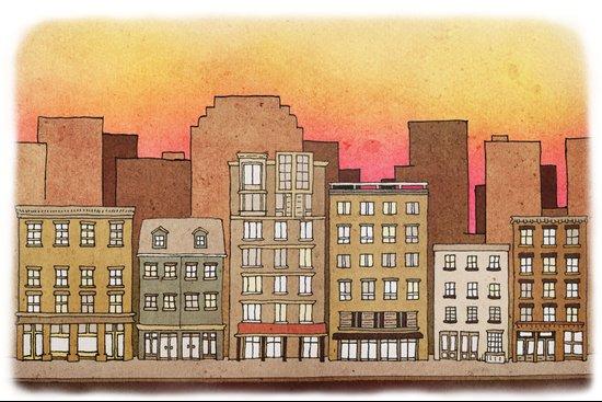 Apartments #7 Art Print