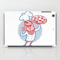 Pizza Chef iPad Case