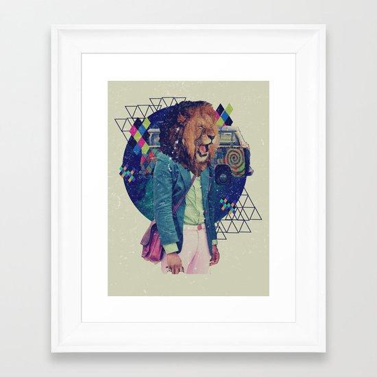 XV Framed Art Print