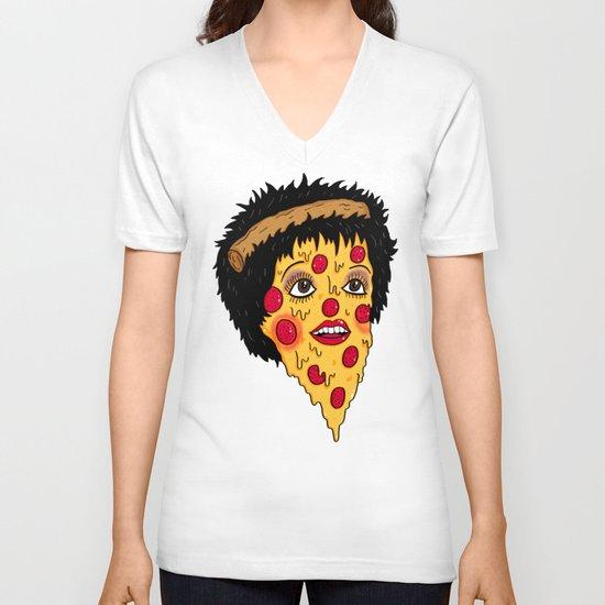 Pizza Minnelli V-neck T-shirt