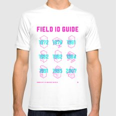 ARCADE FIELD ID GUIDE - SERIAL 001-009 White Mens Fitted Tee SMALL