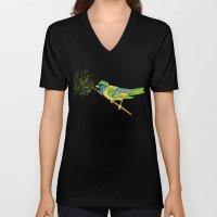 Feathers & Flecks Unisex V-Neck