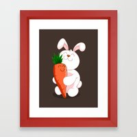 Bunny Luv! Framed Art Print