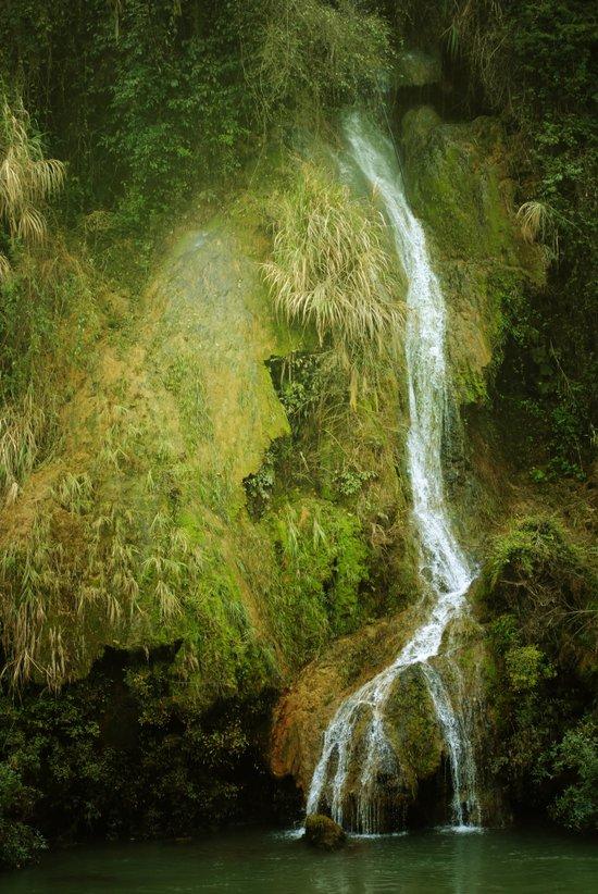 Li River Waterfall Art Print