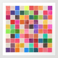 Colorquilt 4 Art Print