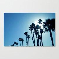 Santa Cruz - Blue  Canvas Print