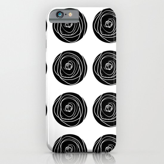 Swirly Dot Pattern iPhone & iPod Case