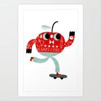 Tattooty Fruity Art Print