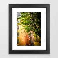 off the streets of Italy Framed Art Print