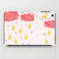 Fly me to the moon iPad Case