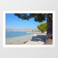 Majorca Sea View Art Print
