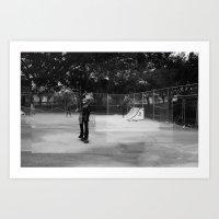 Skater Series #1 Art Print
