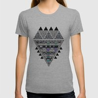 ZIGZAG  Womens Fitted Tee Athletic Grey SMALL