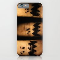 iPhone & iPod Case featuring Scared Fingers by Randy Aquilizan