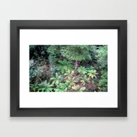 From 30 Metres Above Framed Art Print
