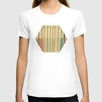 yellow T-shirts featuring Old Books by Cassia Beck
