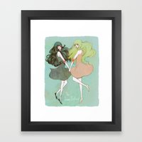 Dream Sisters Framed Art Print