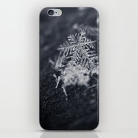 Macro Snowflakes 2 iPhone & iPod Skin