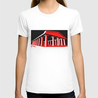 Parthenon Womens Fitted Tee White SMALL