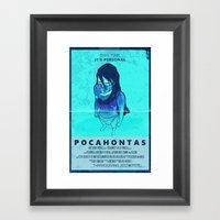 Pocahontas: The Movie Framed Art Print