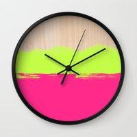 Sorbet VIII Wall Clock