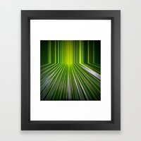 Green Room Framed Art Print