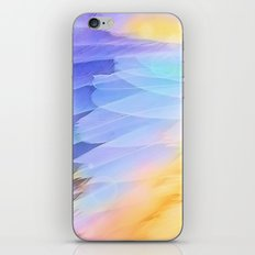 Texture plumage iPhone & iPod Skin
