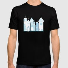 The Ice Castle Mens Fitted Tee Black SMALL