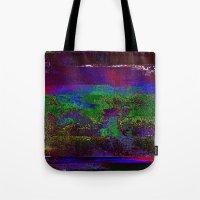 66-84-01 (Earth Night Gl… Tote Bag