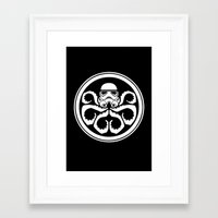 Hydra Trooper Framed Art Print