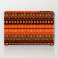 Under the Volcano - tribal geometrics iPad Case