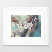 Cherry-tree Framed Art Print