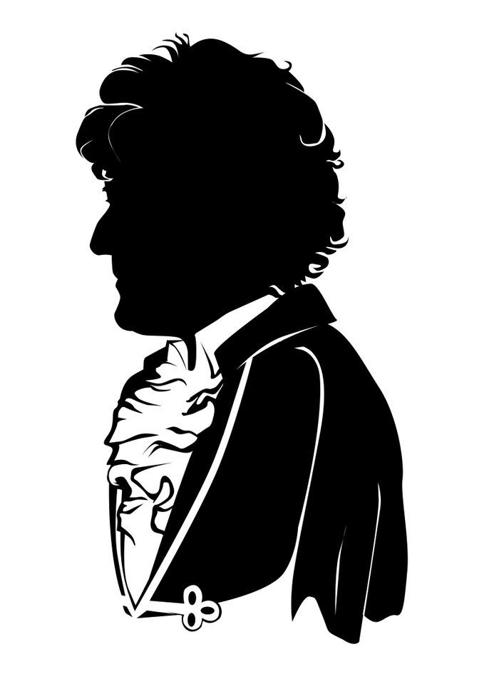 3rd Doctor - Standard Silhouette Art Print by GTRichardson ...
