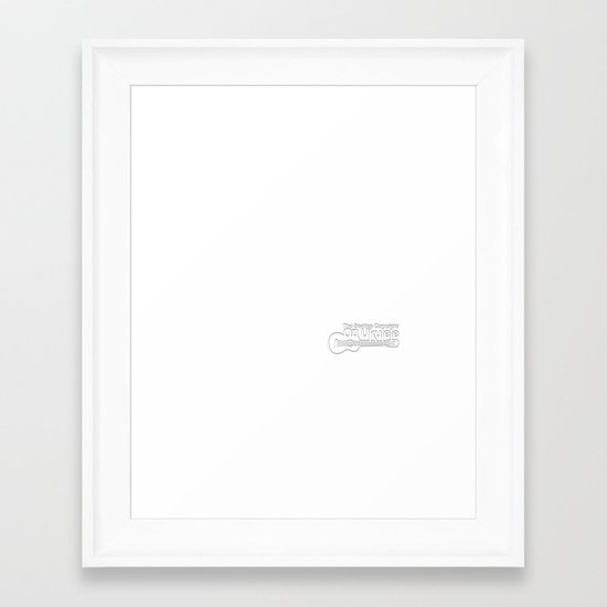 The White Album Framed Art Print