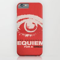 iPhone & iPod Case featuring Requiem For  A Dream by JAGraphic