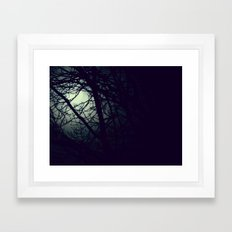 Through the Night Framed Art Print