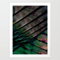 Digipalms Art Print