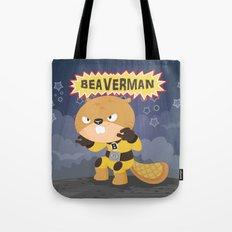 The incredible Beaverman Tote Bag