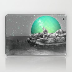 Echoes of a Lullaby / Geometric Moon Laptop & iPad Skin