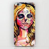 Dia De Los Muertos iPhone & iPod Skin