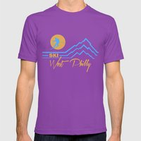Ski West Philly Mens Fitted Tee Ultraviolet SMALL