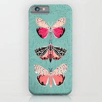 iPhone Cases featuring Lepidoptery No. 6 by Andrea Lauren by Andrea Lauren Design