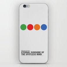 Eternal Sunshine of a Spotless Mind | Minimalist Movie Poster iPhone & iPod Skin