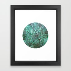 Geometrie #2 Framed Art Print